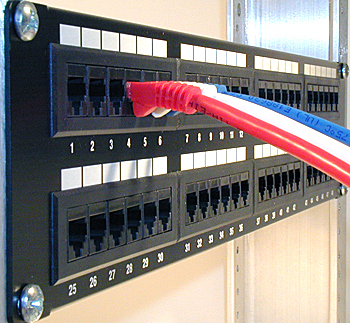 "Top quality and best price 19"" cat6 utp 48 port patch panel buy."