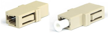 Adapter LC-LC, MM, Plastic Case