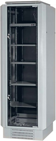 CB cabinet with expanded side panels