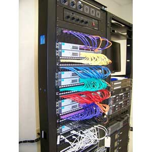 4 Post Racks Rack 2 Data Cabinets Enclosures Network Relay Cable Management Equipment