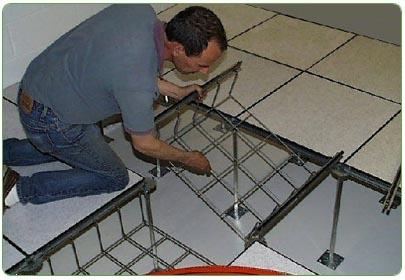 Under Floor Raceway Systems Cable Management Underfloor