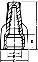 Wire-Nut dimensions
