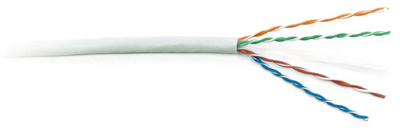 Twisted pair cable UTP, category 6, 4 pares, stranded (patch)